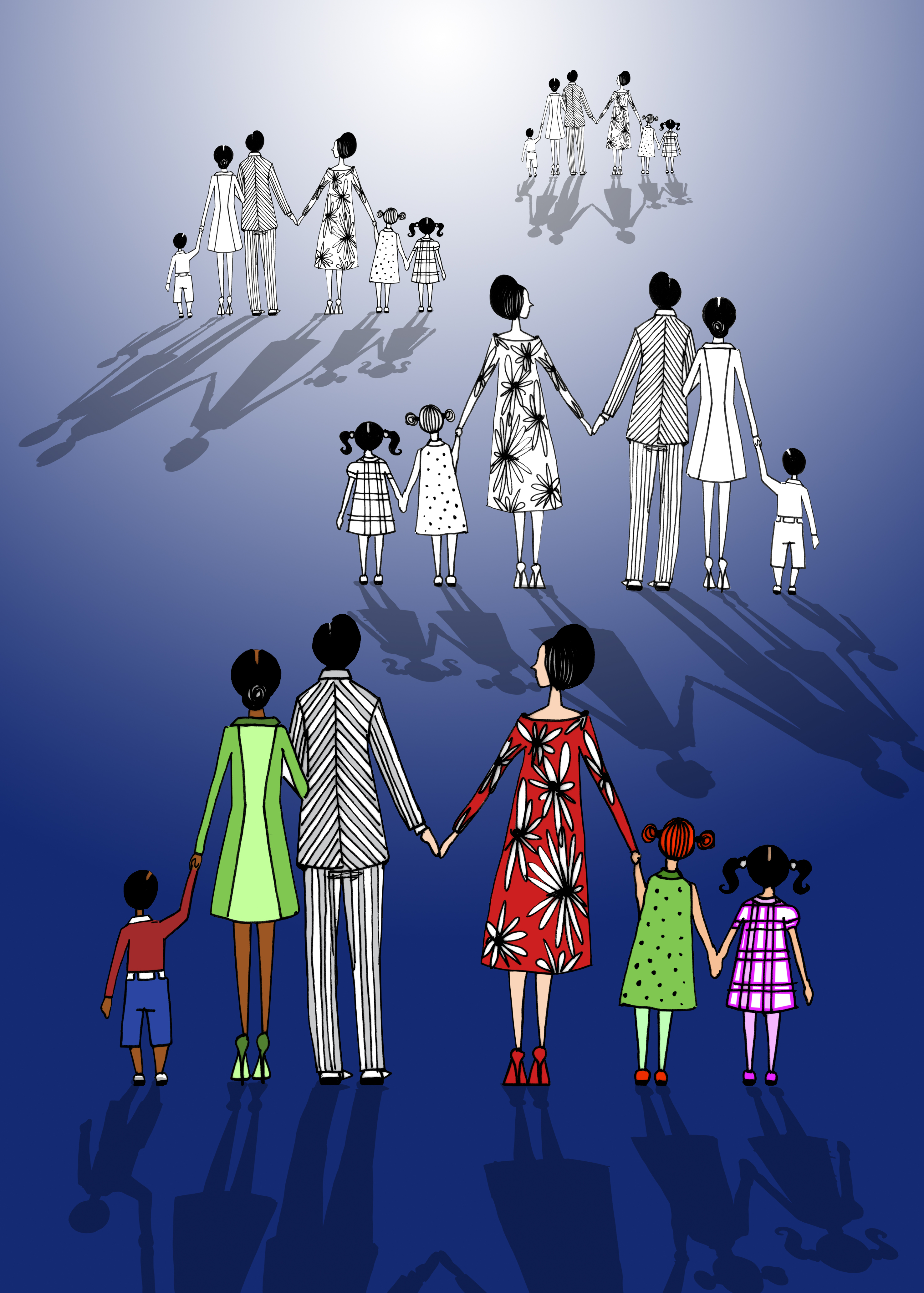 Familia Simultanea - Ronaldo Fraga