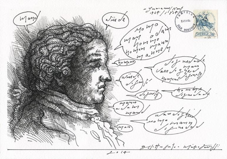 Ilustração de Mário Zavagli para o Dicionário de Direito de Família e sucessões – Ilustrado. Pág. 559
